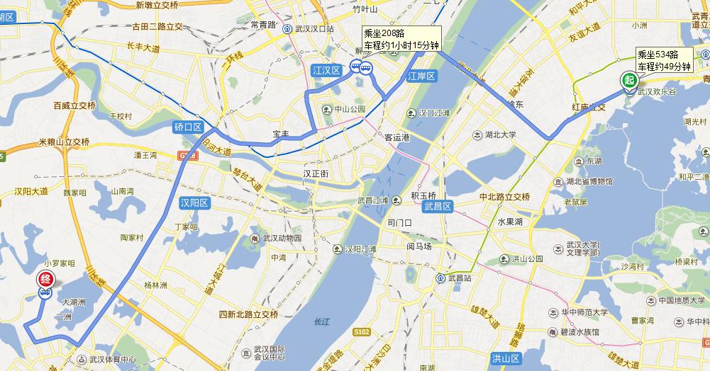 武汉欢乐谷到江汉大学五号门怎么走图片