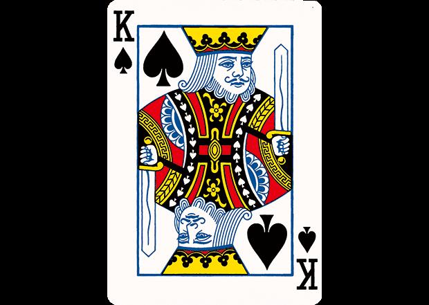 红桃七小丑纹身扑克分享展示图片