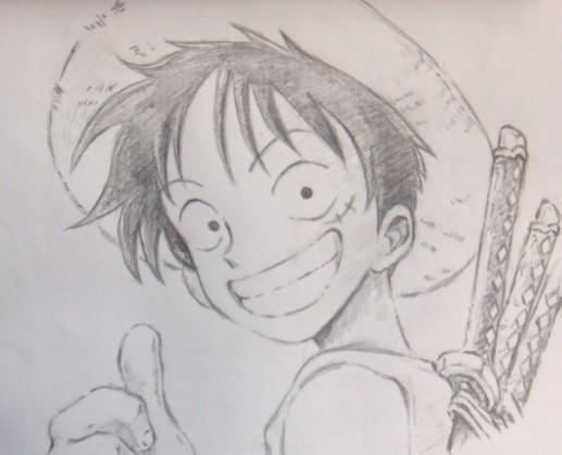 素描   铅笔画海贼王   【海贼王.素描.】   求海贼,火影的素
