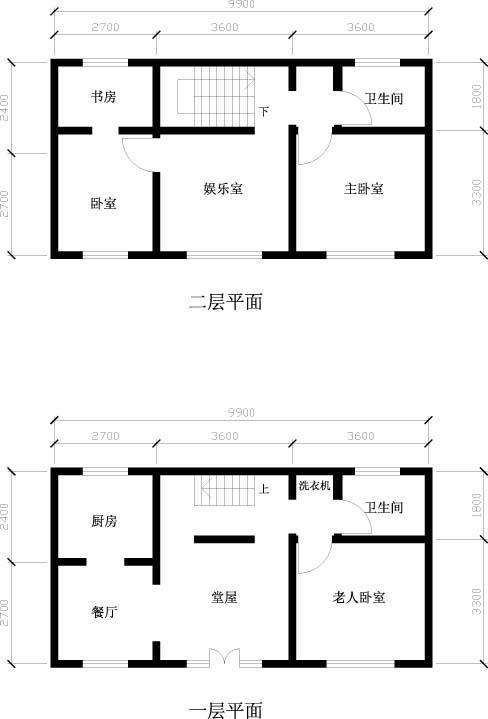需要三房两厅两卫生间一厨房两阳台.或者复式也行.画好设计图就图片