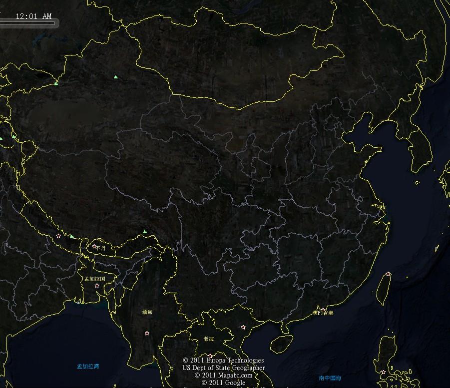 (2014卫星航拍地图)