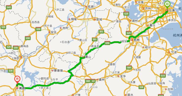 南昌理工学院地图_上海到南昌理工学院多少公里