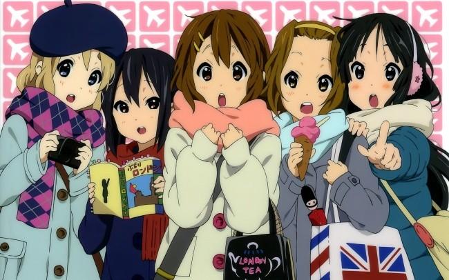求日本女生动漫排行榜