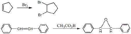 1溴环戊烯与3溴环戊烯