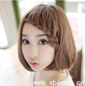 2013年儿童时尚发型 2013年流行发型 5款萌系减龄发型 高清图片
