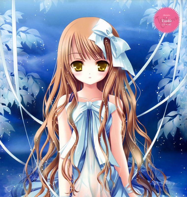 求日本动漫少女图片要可爱漂亮点的最好多点