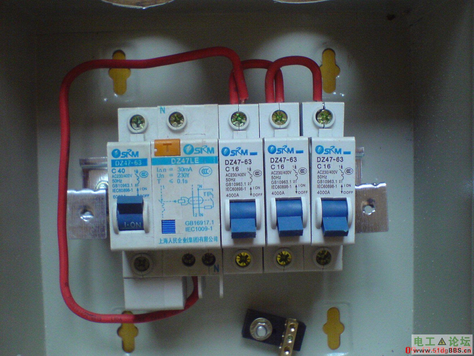 三相断路器接线图高清 三相电接线图 三相空调接线图图片