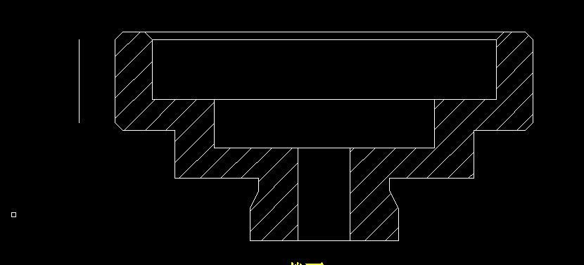 proe 3D转成2D在CAD打开,怎么会有一些重复的线段图片