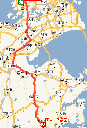 苏州到天台山怎么坐车