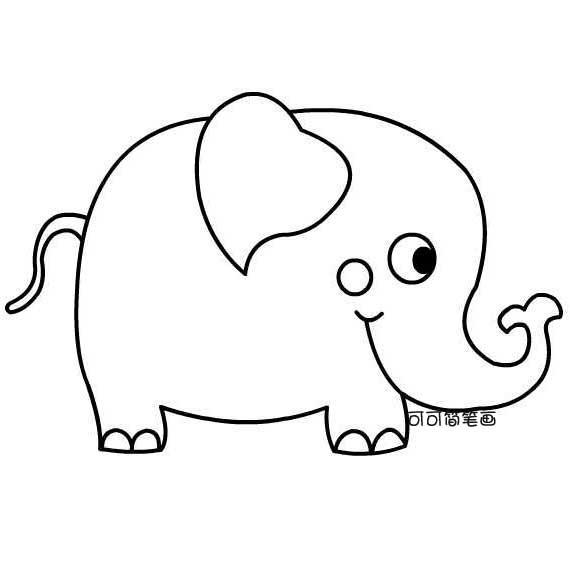 大象图片大全,猴子简笔画,兔子简笔画