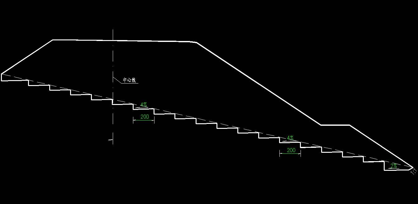 路基标准横断面图_