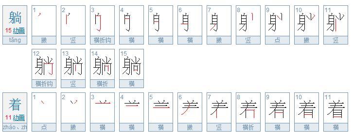 【笔画数】一共2个汉字,共计笔画:15+11=26图片