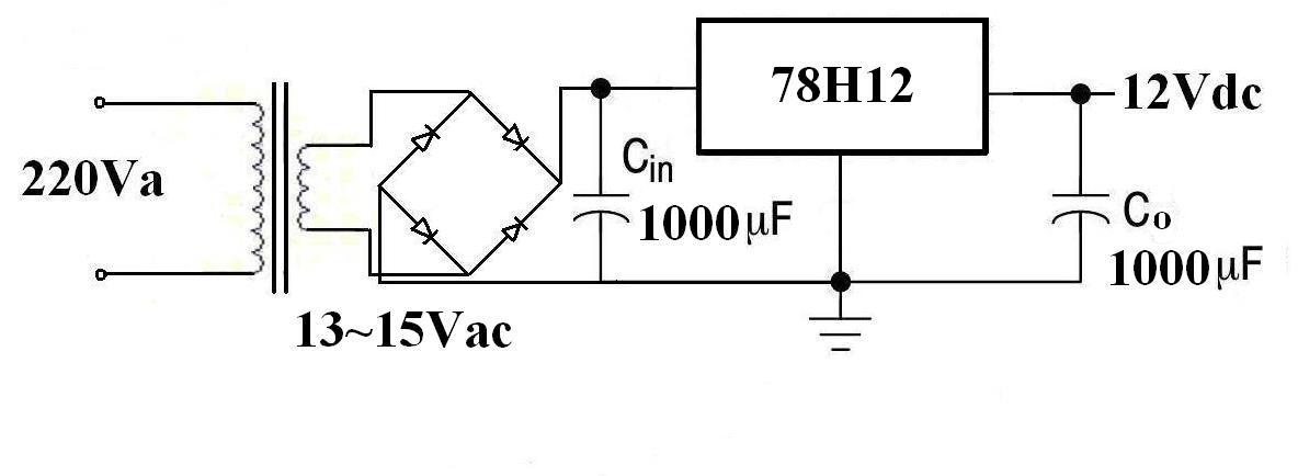 设计一个线性稳压电源,输出±12v,±5v,±3v电压,1a电流图片