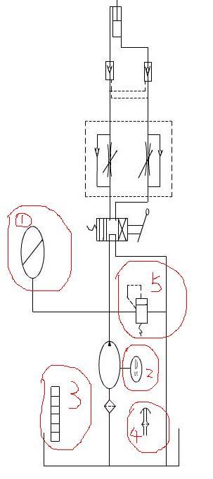 液压系统图的几个符号问题