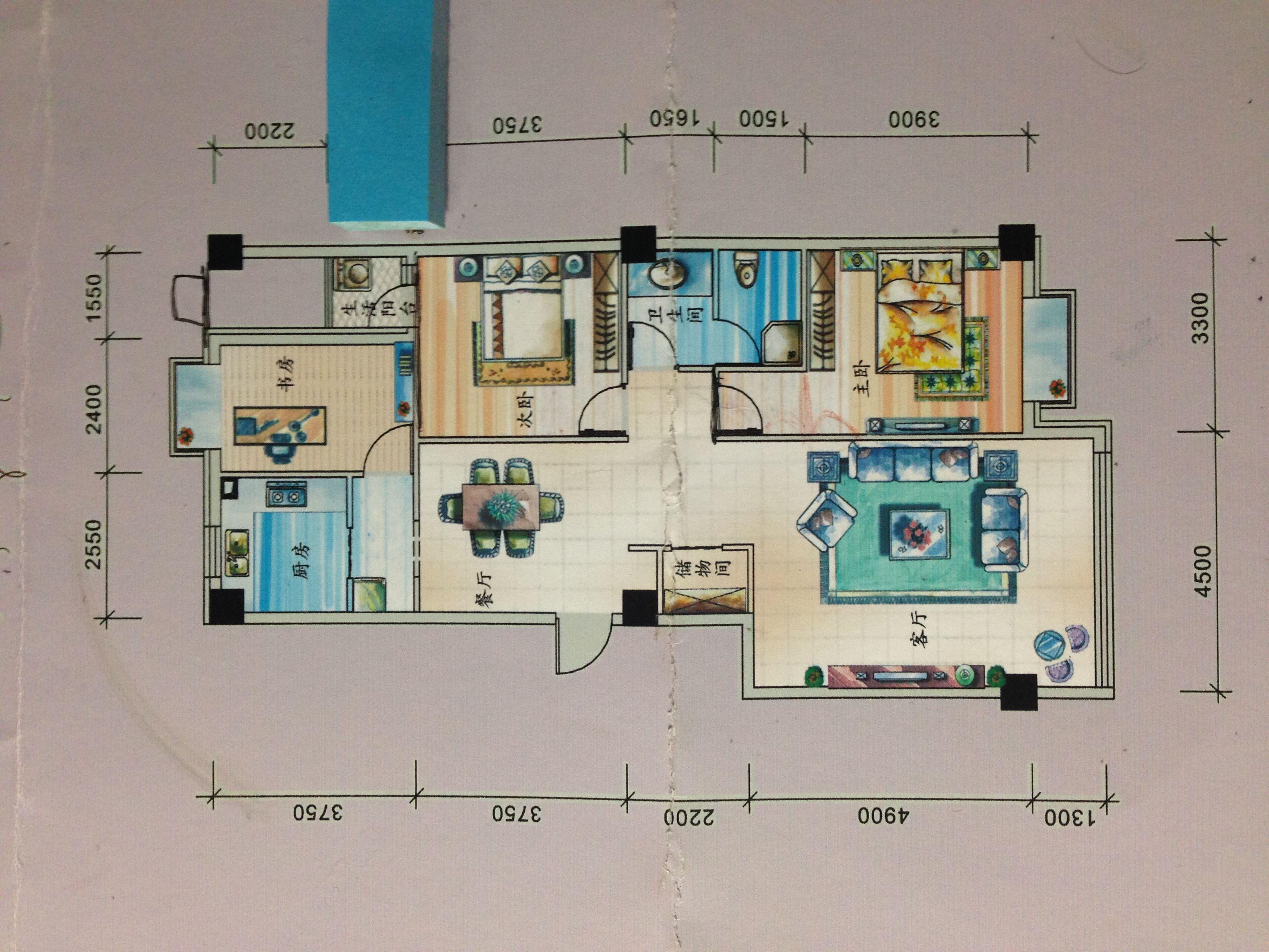 80平方自建房设计图纸_装修图库图片