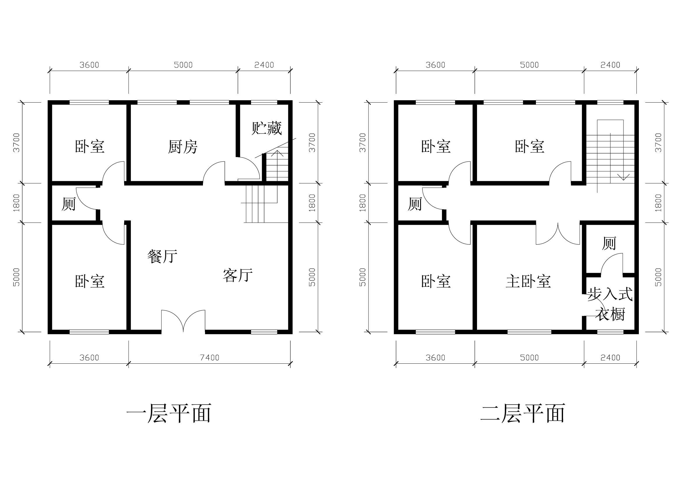 谁能帮我设计一张长11米宽10.5米的房屋的图纸啊?总共图片
