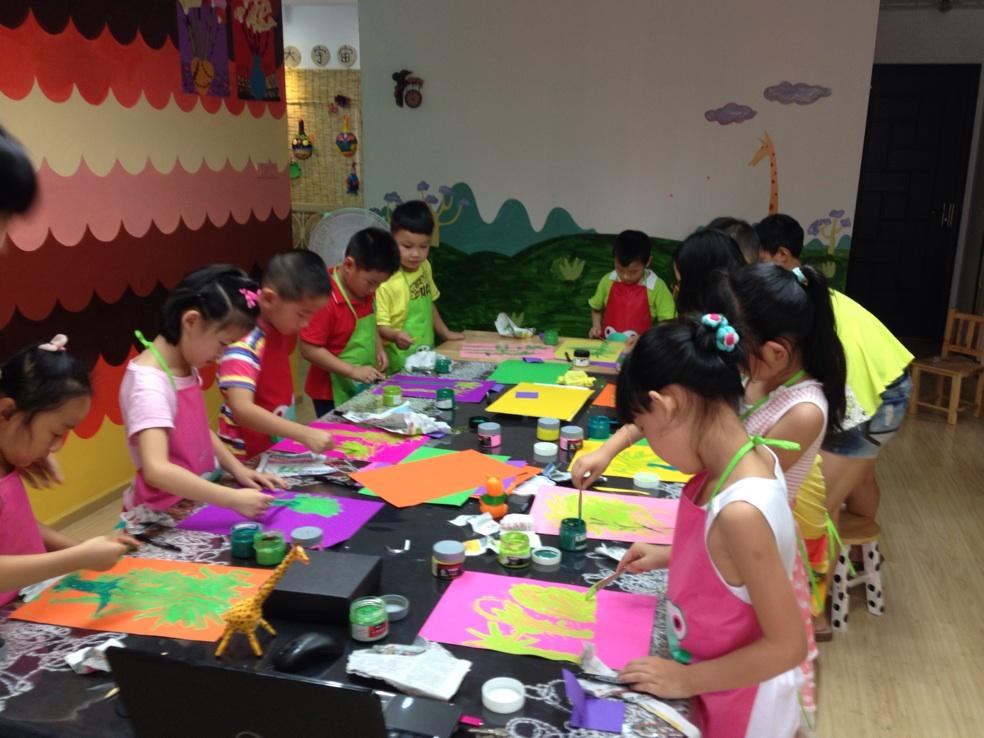 武汉大宇宙儿童美术怎么样?图片
