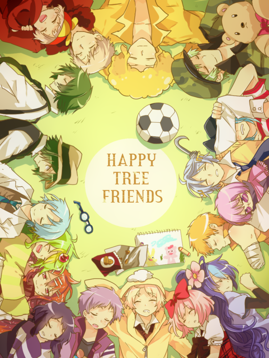 欢乐树的朋友们拟人图片