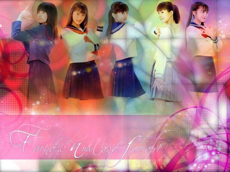 美少女战士真人版的主题曲:闪耀的水手梦想