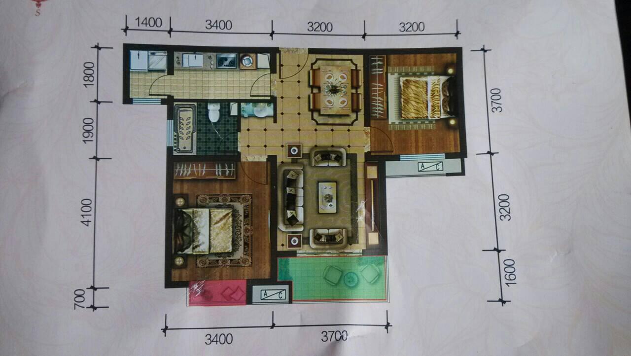 悬赏农村小户型别墅设计图,60-80平方,两层半或三层图片