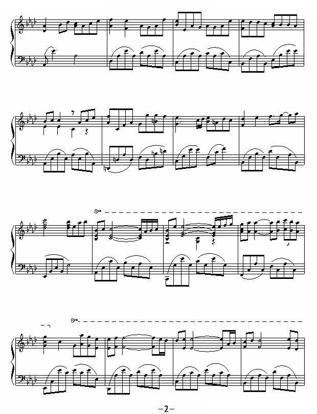 yiruma钢琴曲85首图片