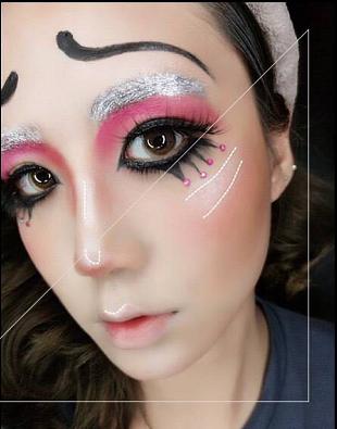 万圣节妆容画法_万圣节来临,即简单又好看的眼部妆容怎么画?