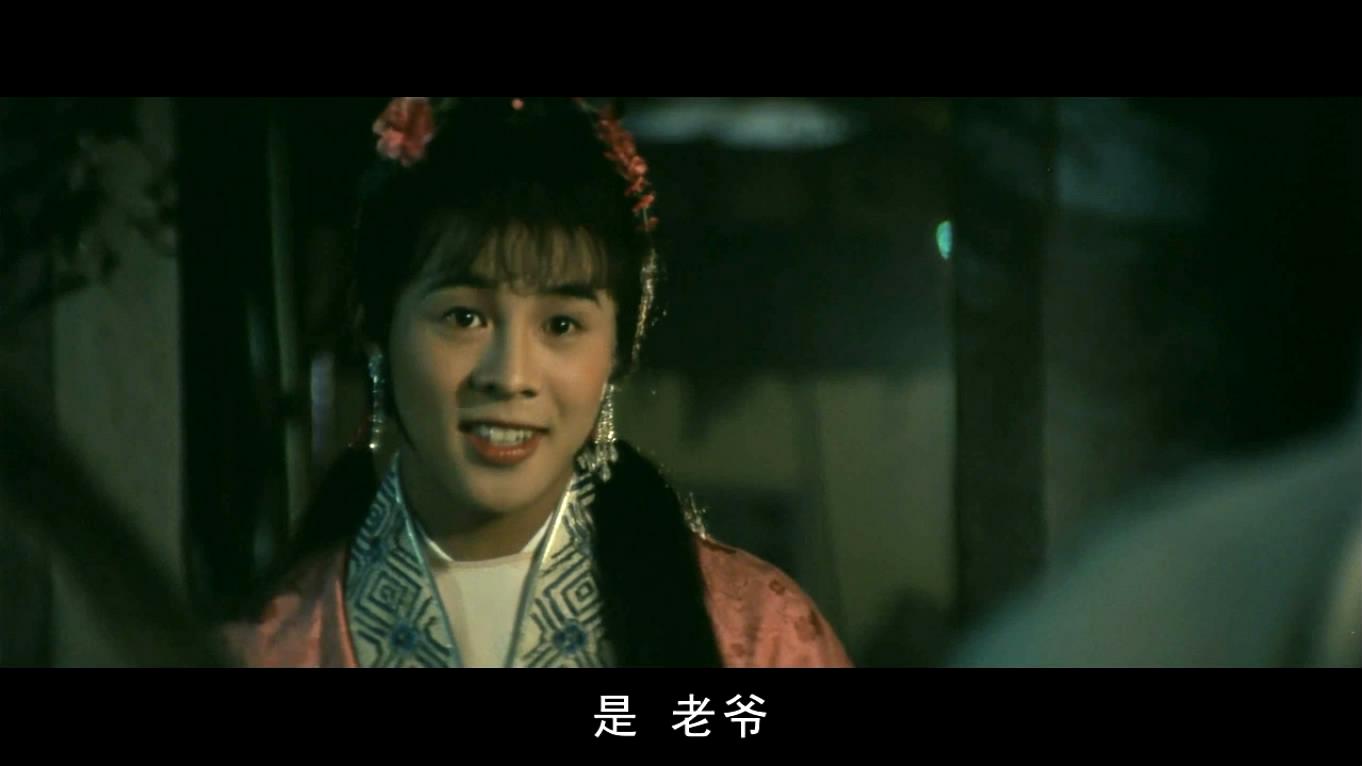 李连杰在电影少林小子里面男伴女妆的照片图片