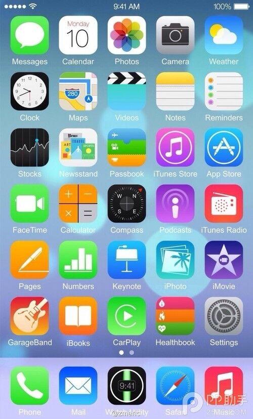 ipad和iphone自带哪些软件?图片
