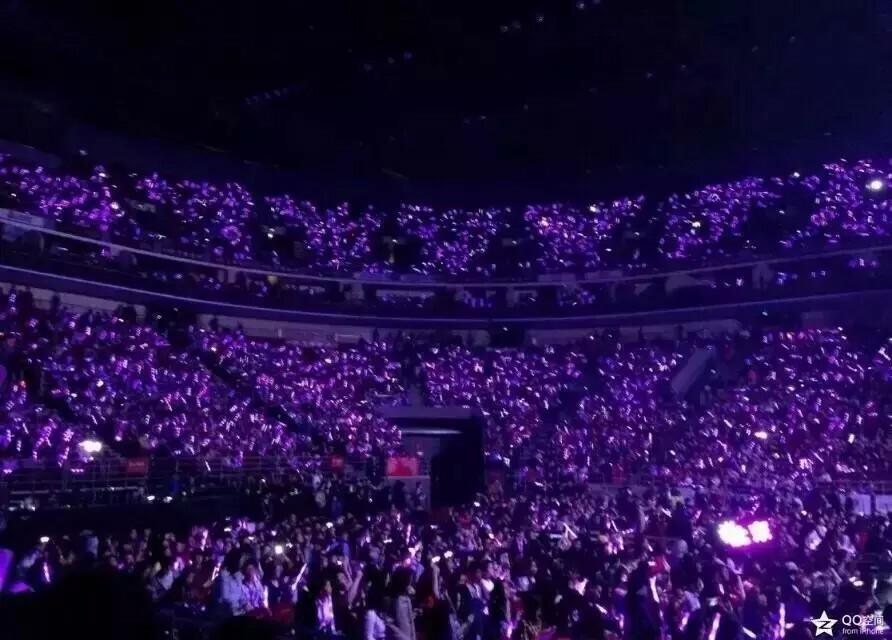 有exo演唱会张艺兴应援的紫海的图片么?图片
