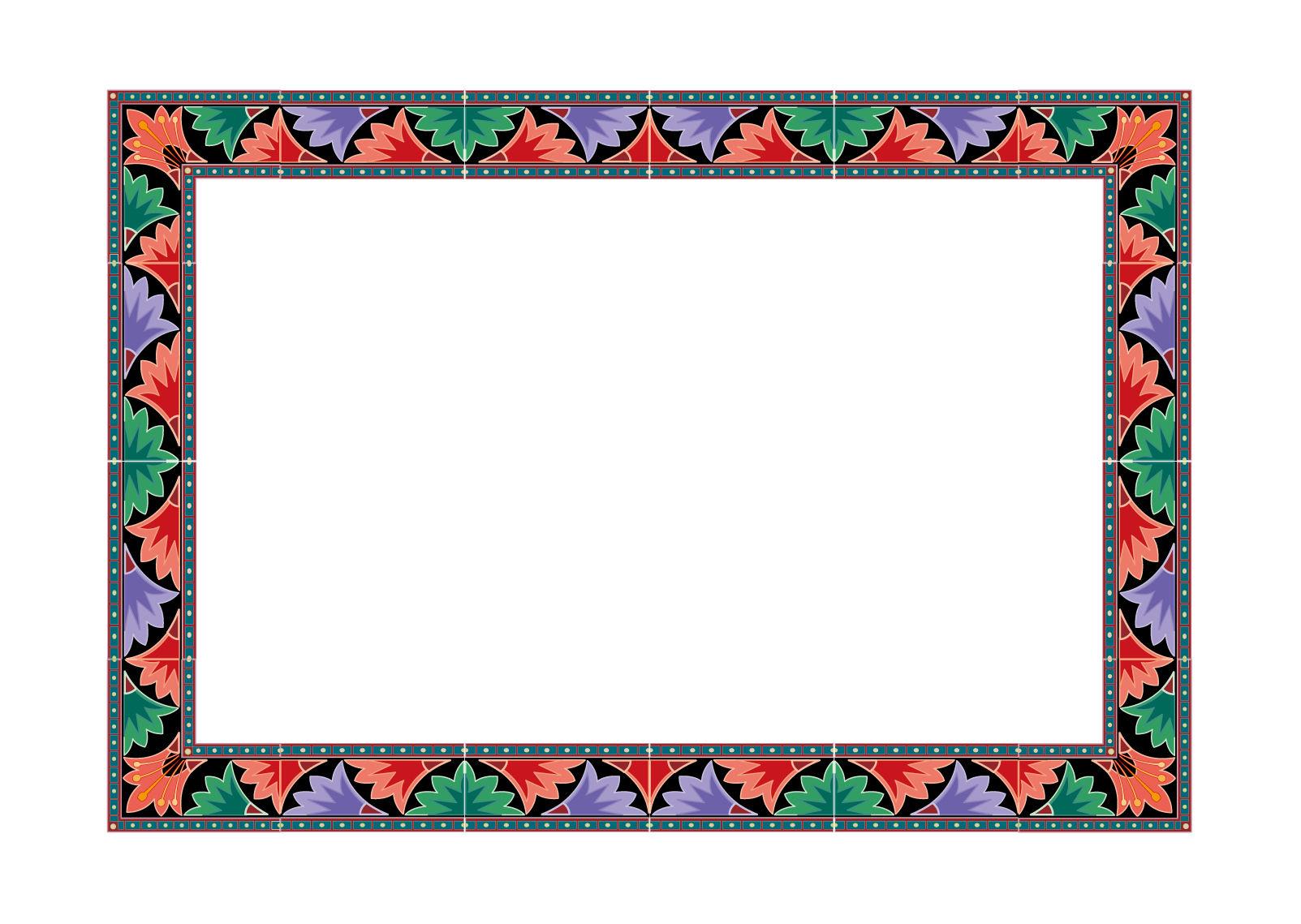 藏式花纹边框下载,主题为相框