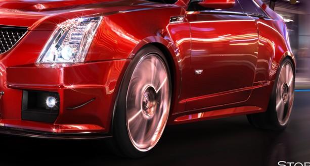 ps怎么的汽车的轮胎高速旋转怎么做的 高清图片