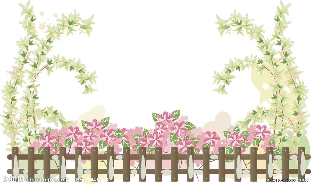 简单手绘花边边框图片