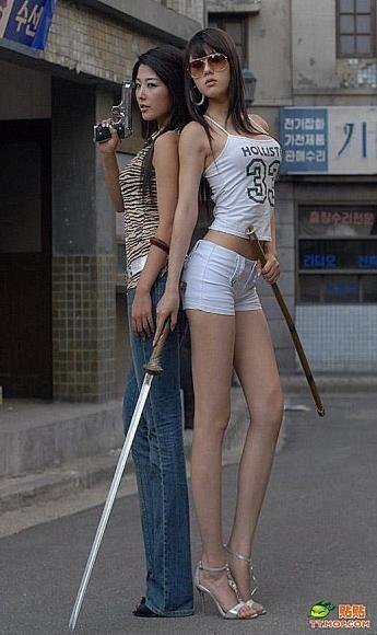 亚洲最长腿模特是谁