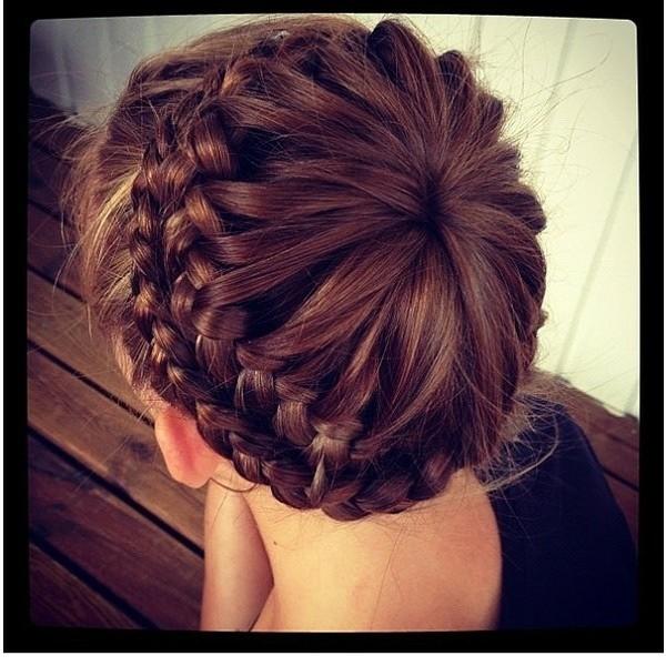 编头发花样步骤图解最新图库 编头发的步骤及图解 编辫子发型步骤图解