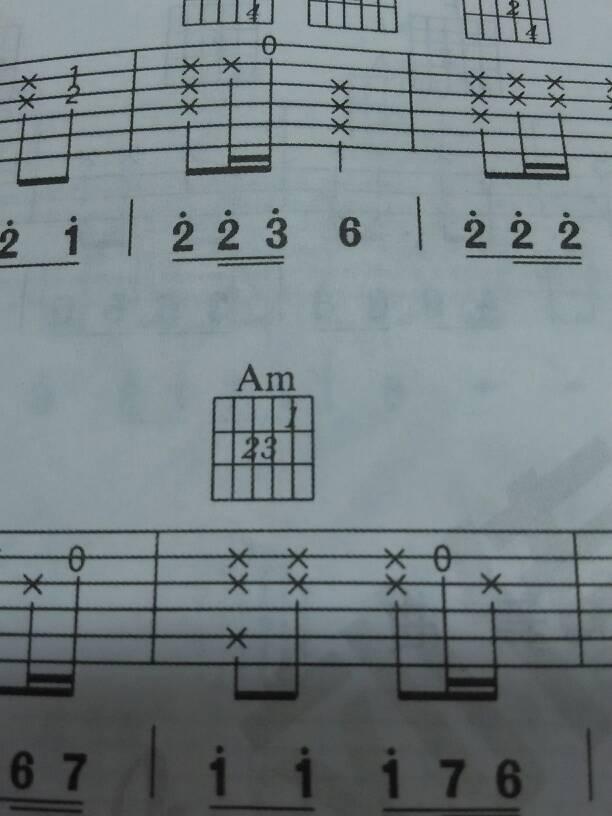 求常用吉他和弦图 清晰