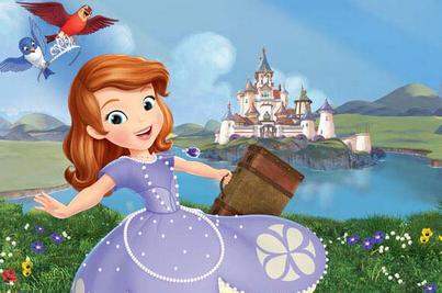 《苏菲亚小公主》里面的苏菲亚是公主吗?图片
