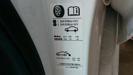这个气泵的压力表到充到的多少才轮胎的正常气压图片