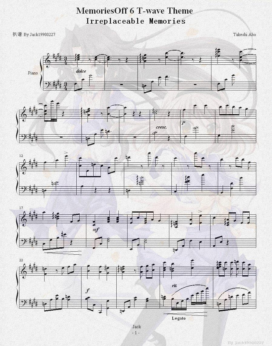钢琴谱怎么看?图片