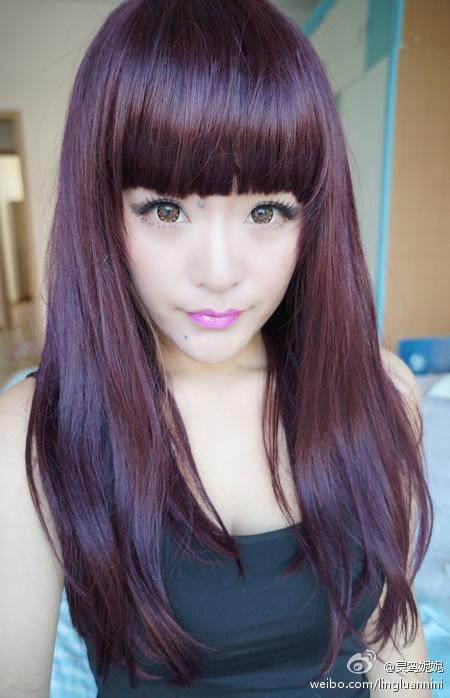 2012流行头发颜色,发型?图片