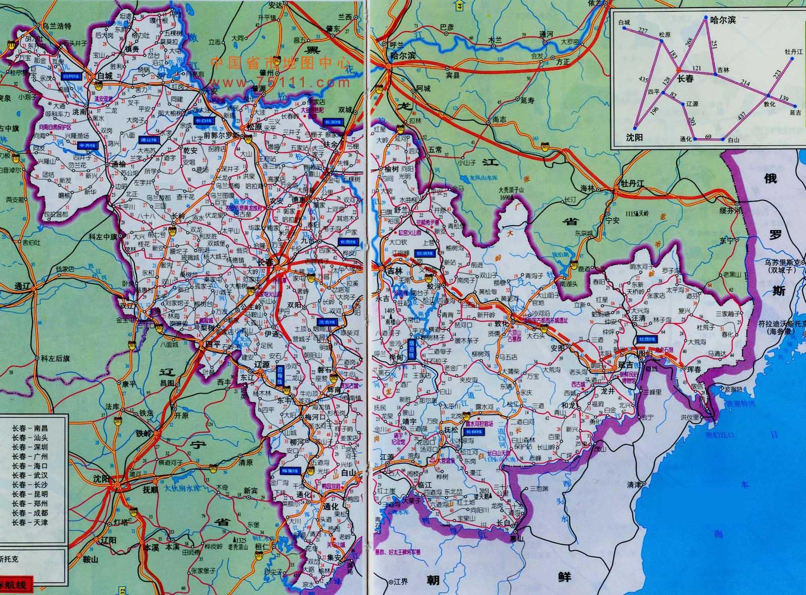 东北三省地图高清版_求东北三省地图东北三省地图