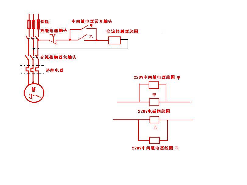 电磁阀控制水泵?图片