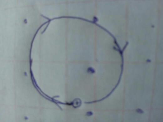 电子在磁场中运动轨迹