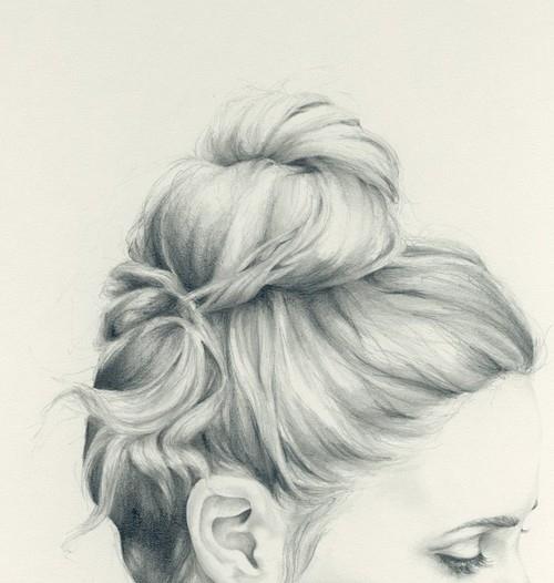 素描头发的详细画法 素描五官的详细画法 素描龙的分解画法图片