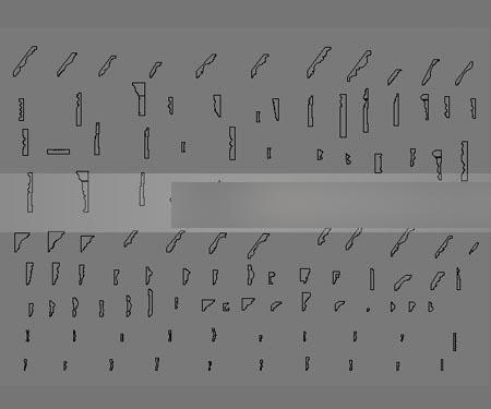 3dmax导入cad石膏线剖面倒角后线很多相交图片