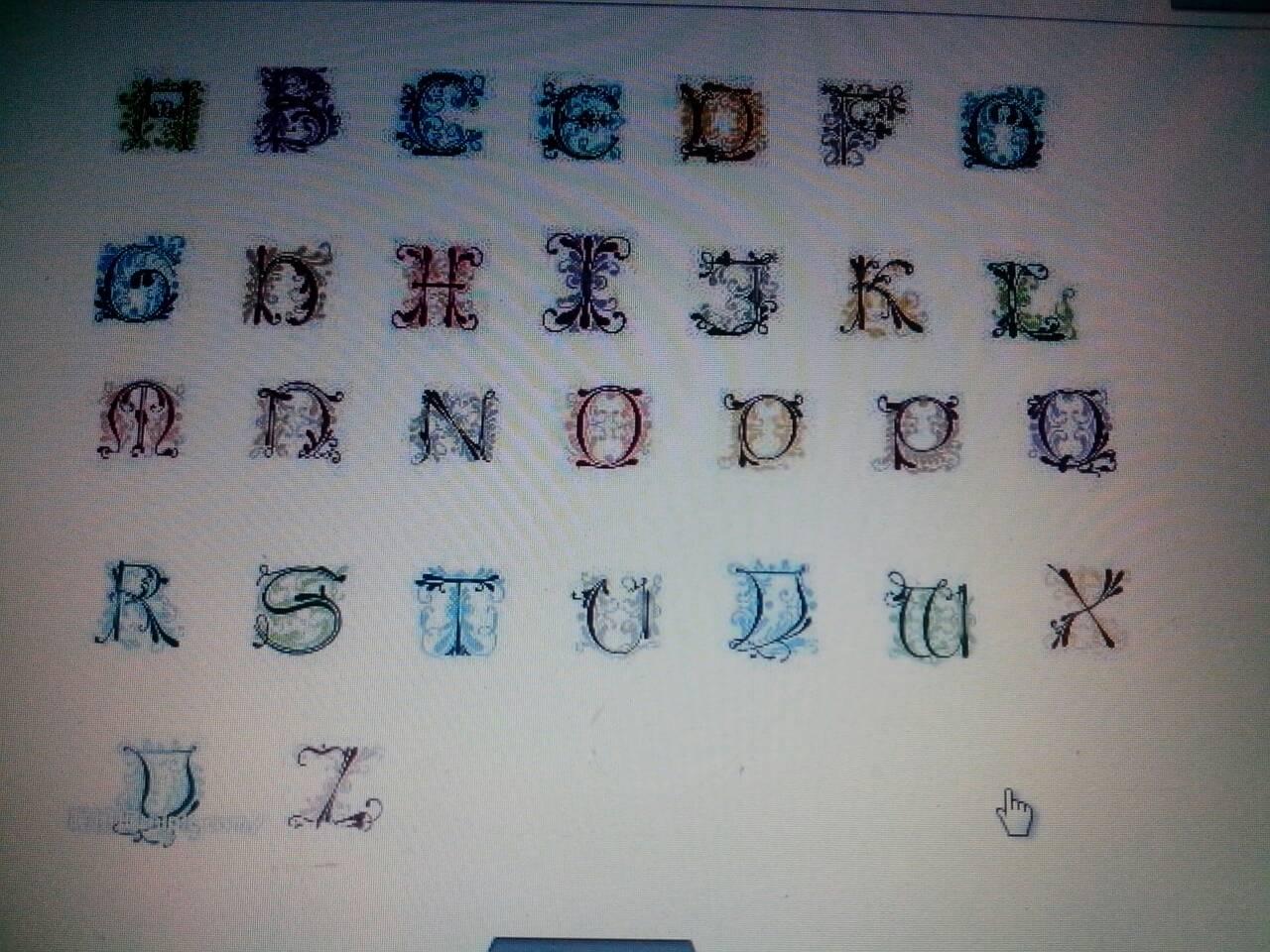 英文字母纹身图图案图片