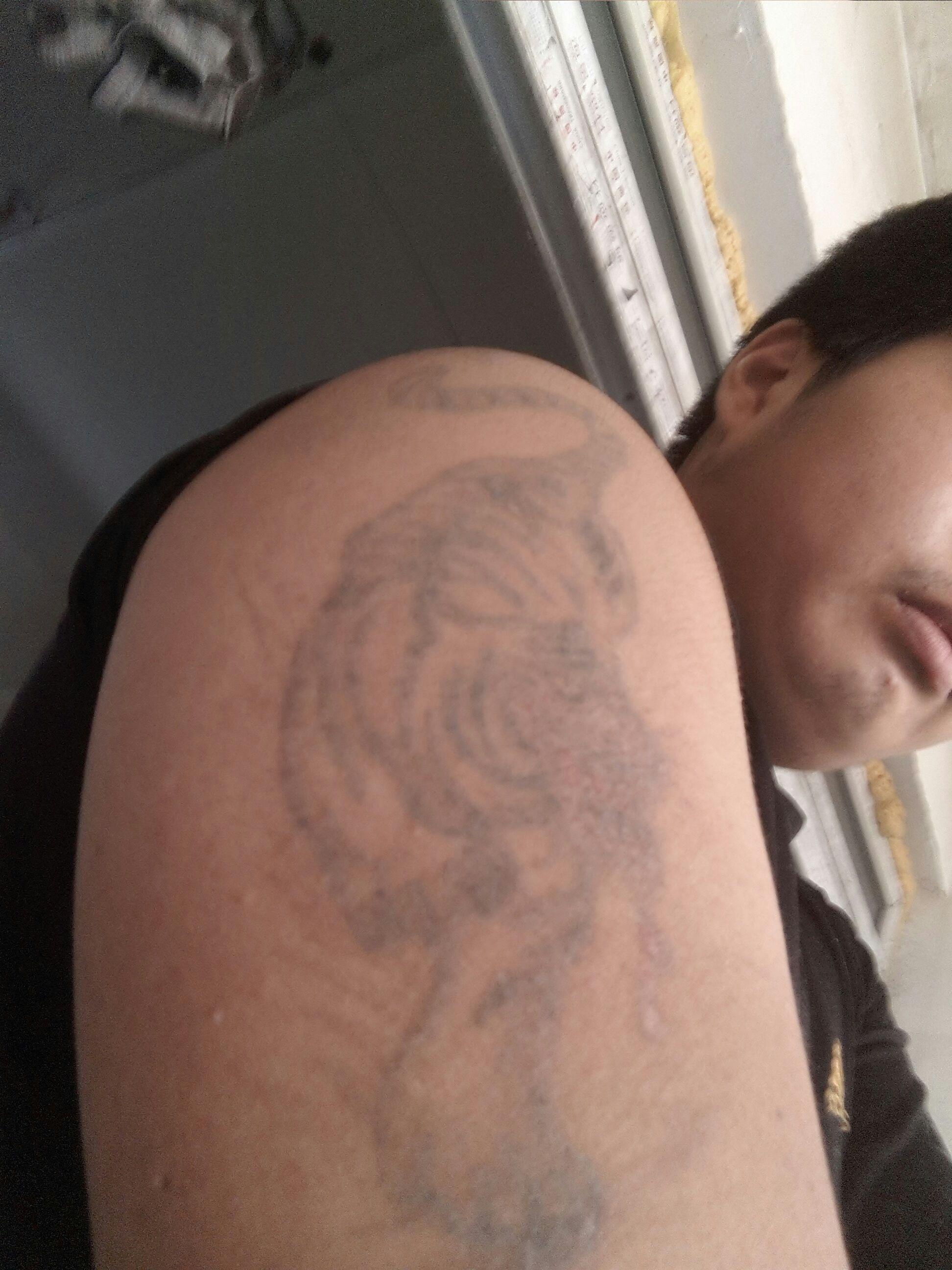 我纹身有30平方厘米大图片