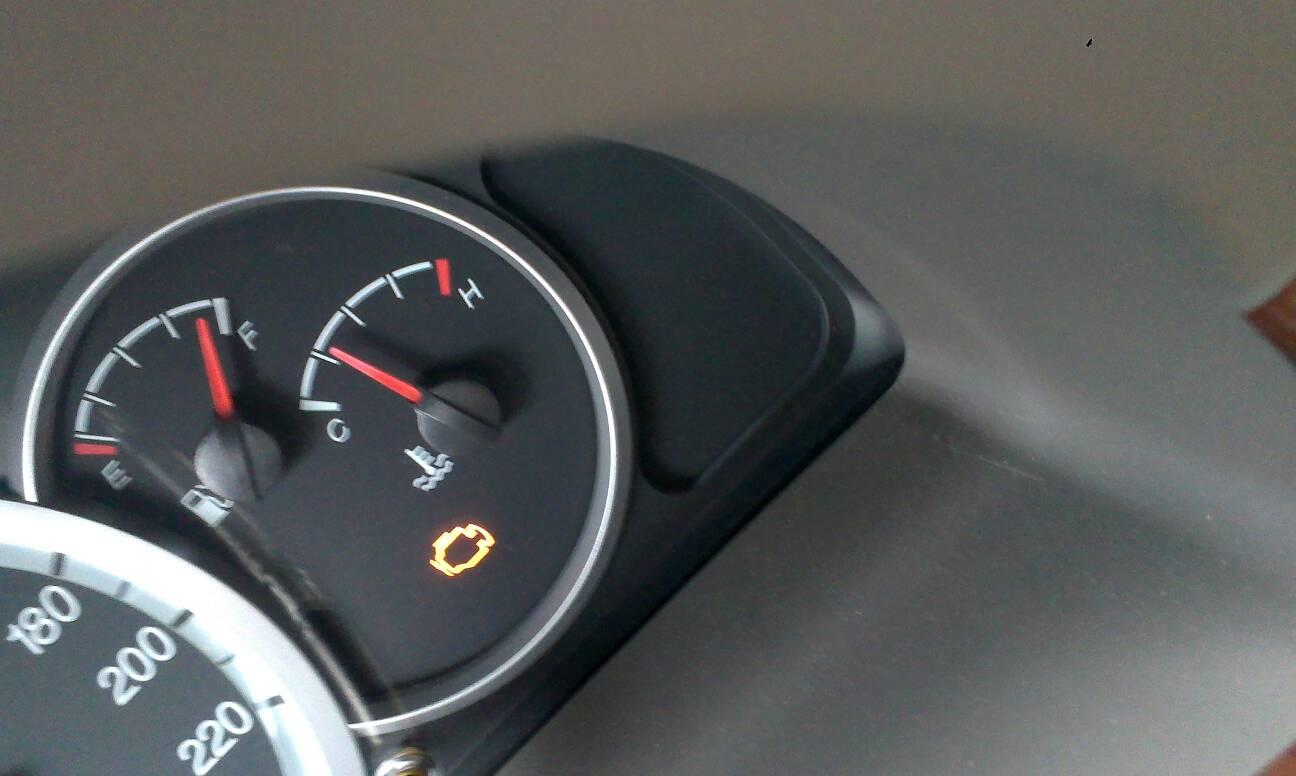 汽车表盘上的这个符号是什么意思 奥铃汽车仪表盘中有个栅高清图片