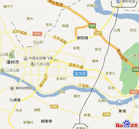 漳州市区到长泰漂流