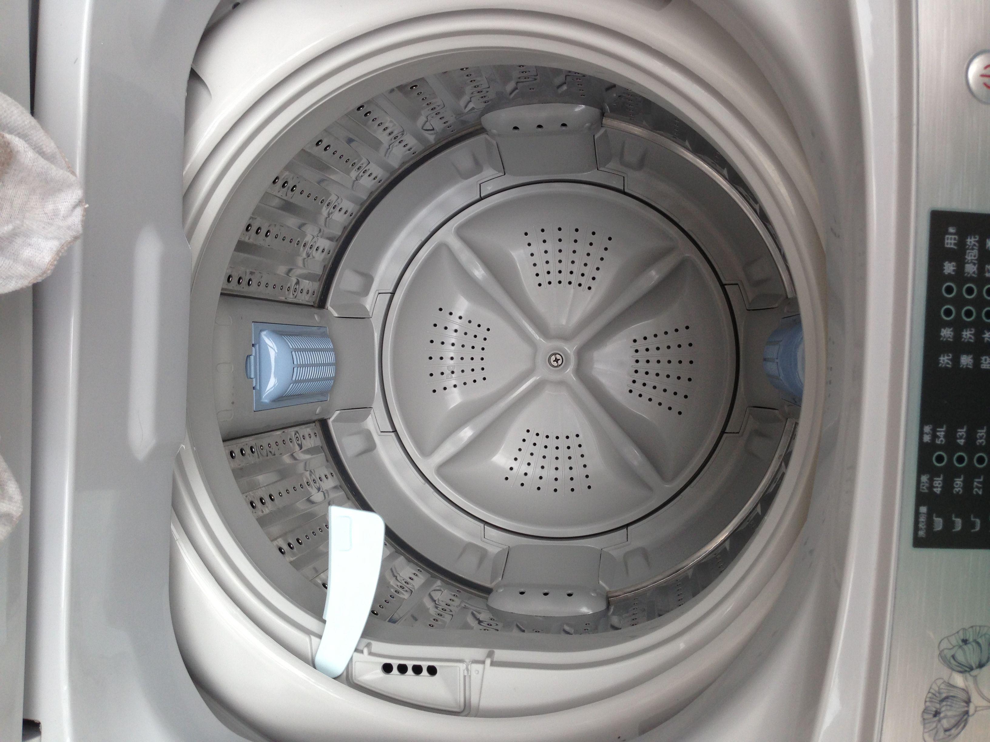 海尔智能滚筒洗衣机洗衣粉怎么加图片