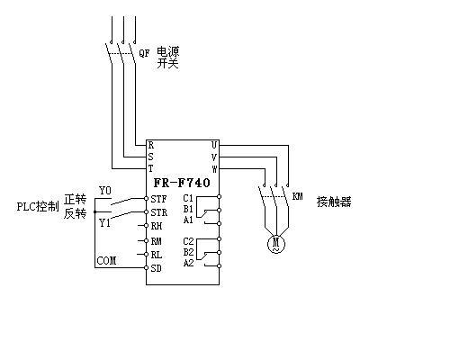 单相电机正反转接线 电动机正反转接线 单相电机接倒顺开关图片